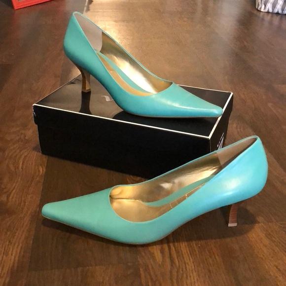 Nina shoes tiffany blue heels new poshmark tiffany blue heels new junglespirit Image collections